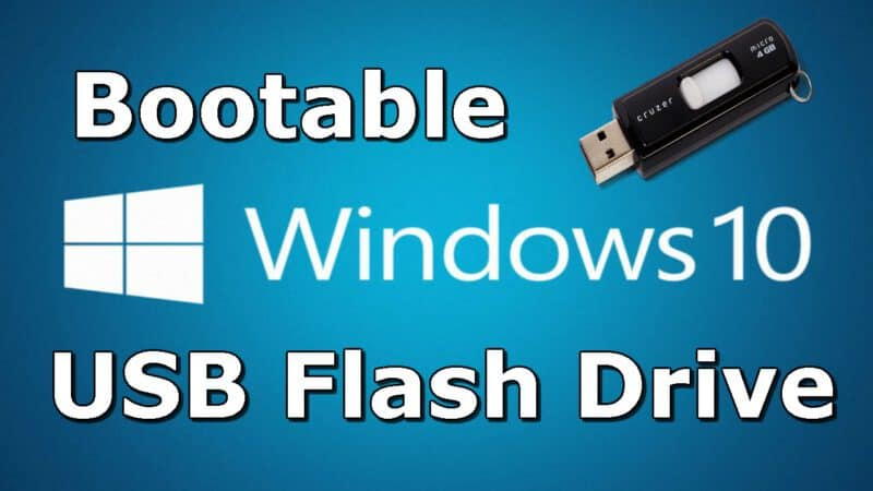 Bootable USB Drive for Windows 10 ISO