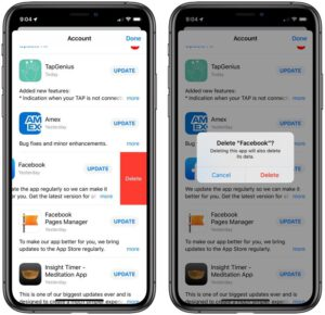 Update all iOS apps to the latest versions