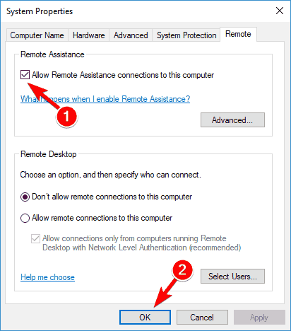 2. Enable Remote Desktop in Windows Settings