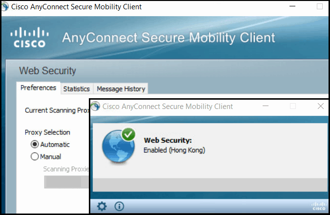 Cisco AnyConnect Secure