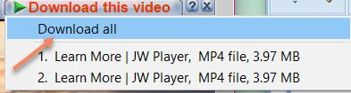 Download JW Player Videos Using IDM for Downloading