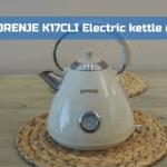 GORENJE K17 CLI Electric kettle review