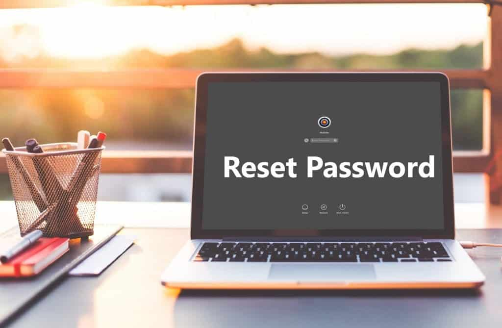 How to reset password in macOS Sierra